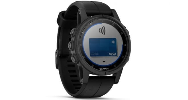 GPSウォッチ「fenix 5 Plus Series」、「決済機能」