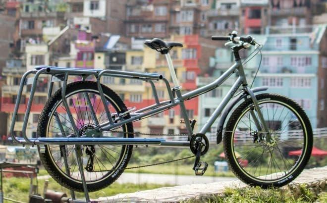 140キロまで運べるカーゴバイク、Portal Bikesの「Long-Tail Bike」
