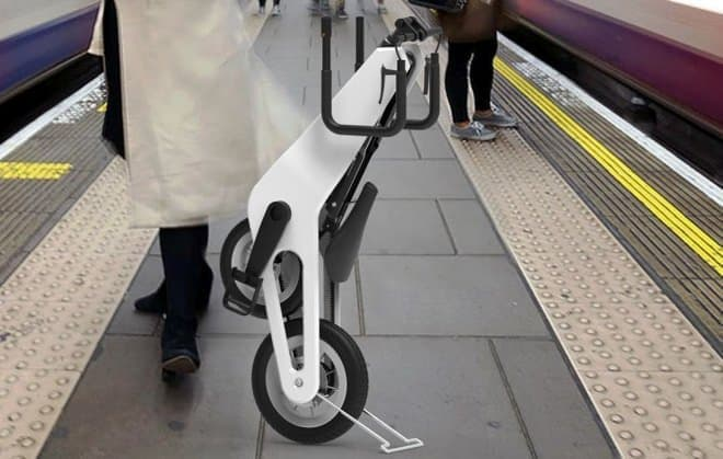 折り畳み自転車「Urban Bicycle」-スイスナイフにインスパイアされたデザイン