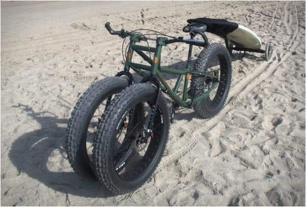 3輪ファットバイク RUNGU「Juggernaut」