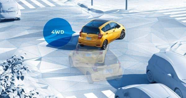 日産「ノート e-POWER」に4WD車を追加