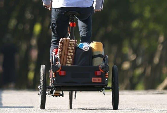 「マルチユースサイクルトレーラー」が、自転車ブランドDOPPELGANGERから販売開始