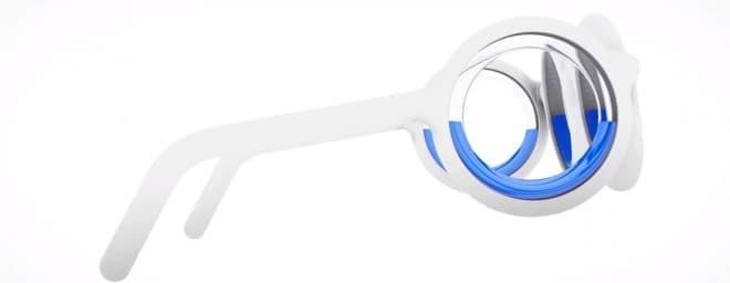 乗り物酔いを防止するメガネ、シトロエンの「SEETROEN GLASSES」