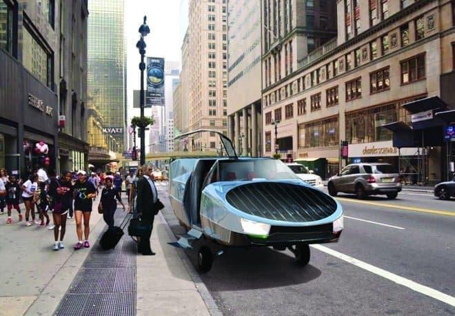 空飛ぶタクシー!、都市部に登場 - 渋滞知らずで飛べる「CityHawk」