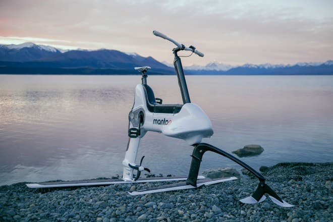 電動アシスト水中翼バイク、Manta5「XE-1」