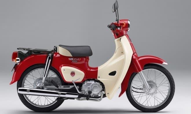 ホンダ、スーパーカブの誕生60周年を記念したアニバーサリーモデル