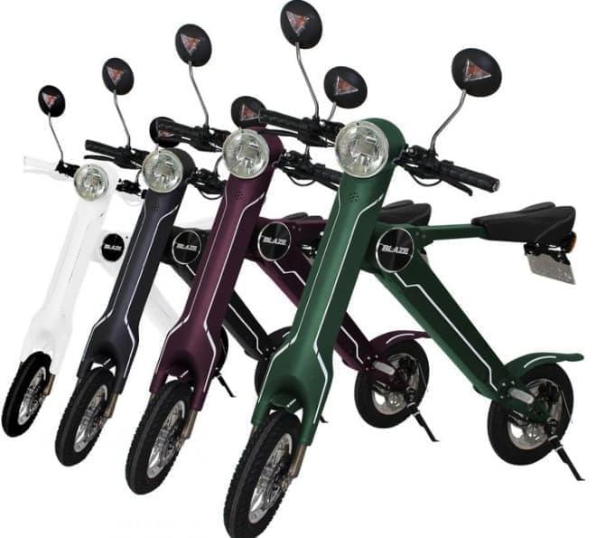 電動バイクはアマゾンで買う―折り畳める「BLAZE SMART EV(ブレイズスマートEV)」