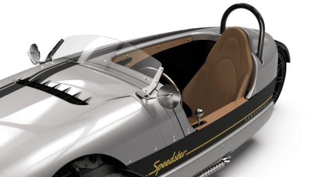 一人乗りのオープンカー、Vanderhall「Venice Speedster」