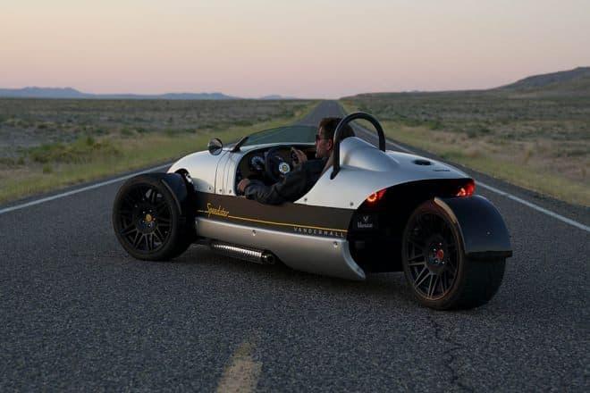 一人乗りのオープンカー、Vanderhall「Venice Speedster」-