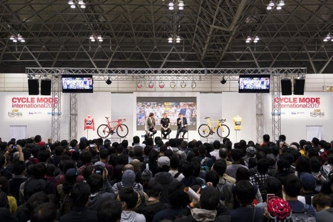 自転車フェス「CYCLE MODE international 2018」
