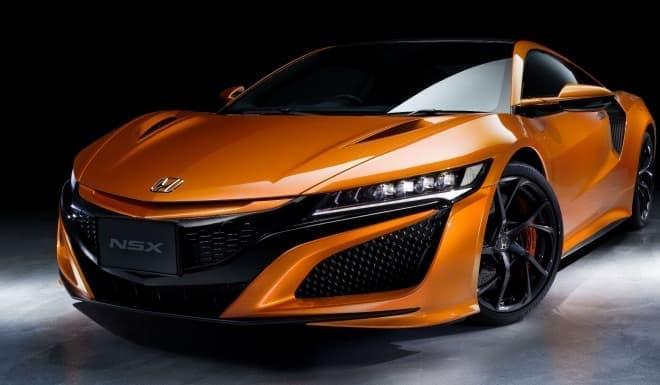 ホンダ、「NSX」改良モデルを2018年秋に発表