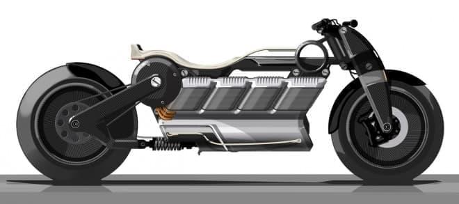 V8エンジン…ではなく、V8バッテリーの電動バイク「Hera」