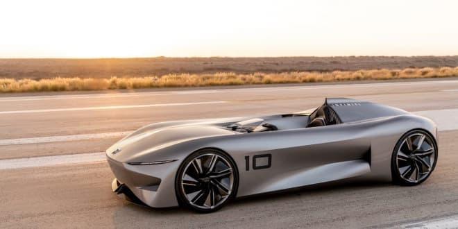 インフィニティ、一人乗りの電動スピードスター「プロトタイプ10」