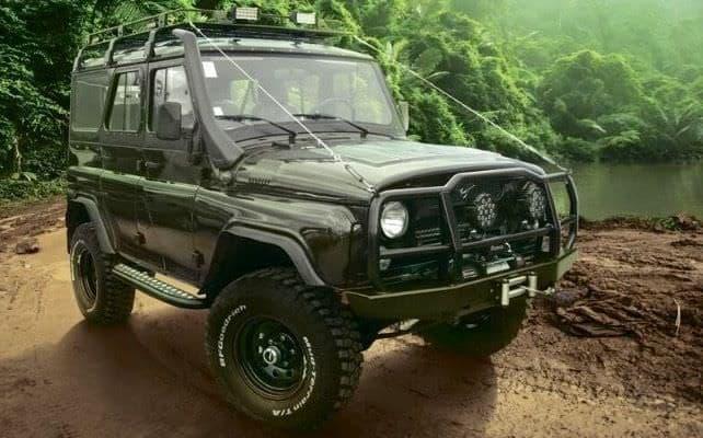 UAZハンターシリーズ「Jungle Edition」