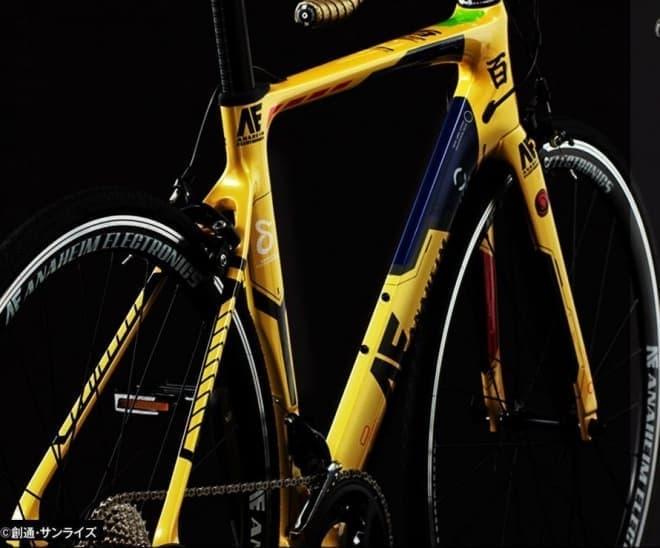 ガンダムシリーズ ロードバイク第2弾 店舗販売開始