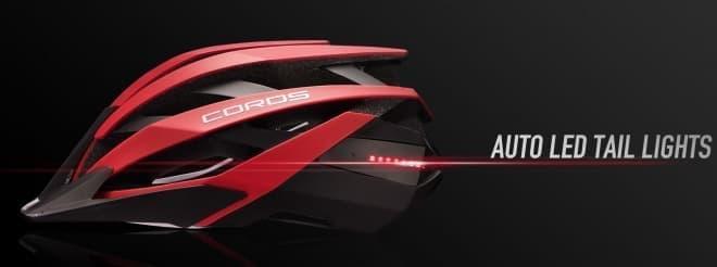 骨伝導スピーカー付きのヘルメット、COROS「OMNI」
