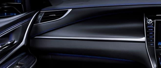"""トヨタハリアーにブルーが映える内装の特別仕様車「PROGRESS""""Style BLUEISH」"""