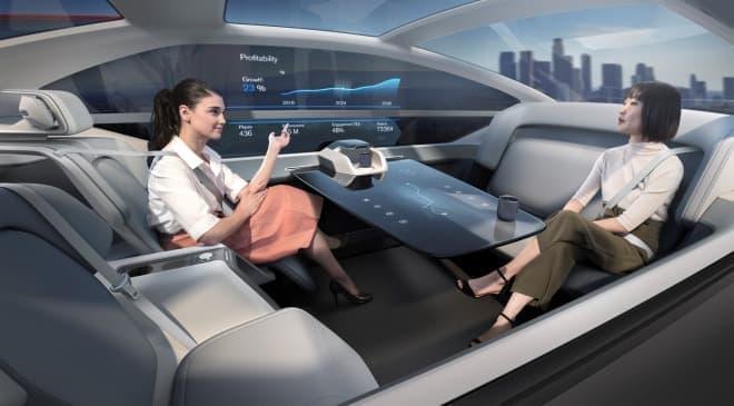 寝ている間に目的地に着けるクルマ ― ボルボによる自動運転車のコンセプト「360c」