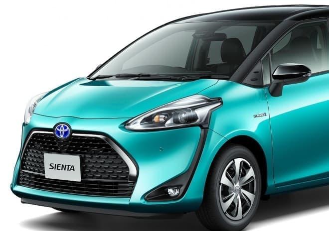 トヨタ、「シエンタ」マイチェン ― MTBを2台積める2列シート車新登場