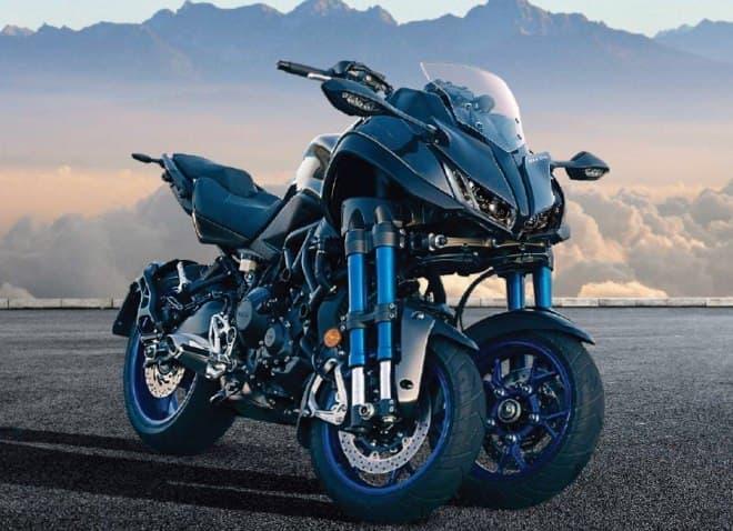 フロント2輪の大型バイク、ヤマハ「NIKEN(ナイケン)」発売