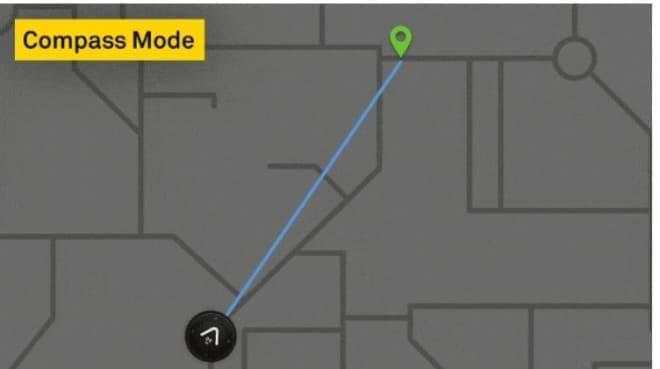 方向と距離だけを教えてくれるバイク用ナビ「Beeline Moto」、Kibidangoに