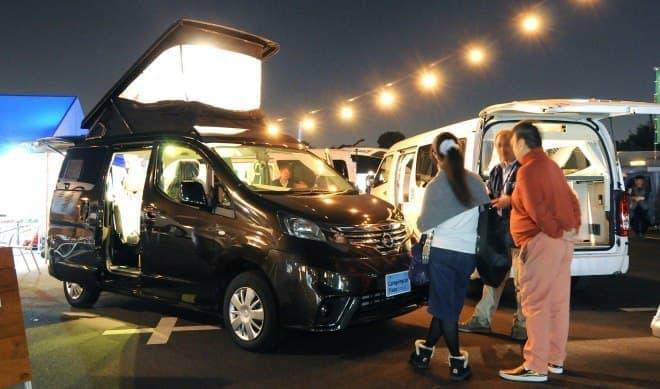 「夜のキャンピングカー商談会」もある! ― 「お台場キャンピングカーフェア2018」、10月20日、21日に開催