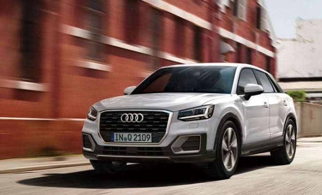Audi Q2に限定モデル「#contrast limited」-コントラストの効いた内外装が特徴