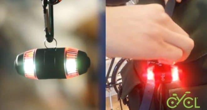 自転車用ウィンカー「WingLights」に、ポジションランプの役割をプラスした「WingLights360」