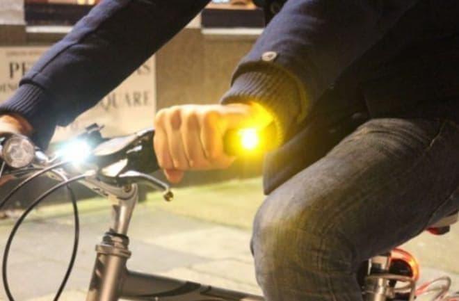 自転車用ウィンカー「WingLights」