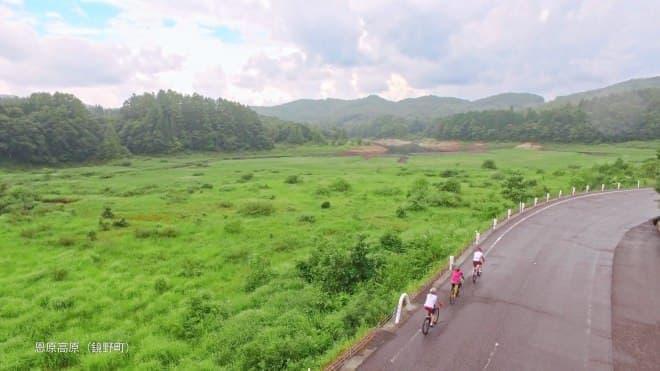 推奨8ルート中最長距離の「岡山鏡野縦断ルート」