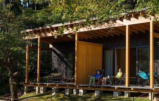 「Tree Picnic Adventure IKEDA」で、キャビン棟を新設