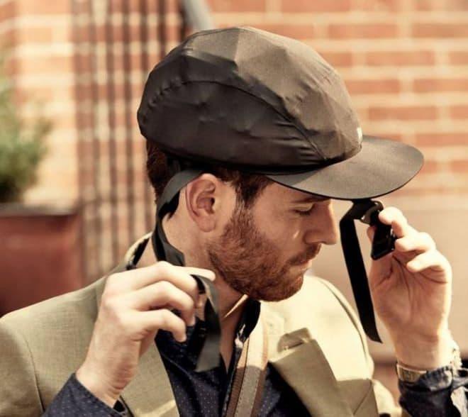 帽子みたいな自転車用ヘルメット「Park & Diamond」-自転車通勤者向けに、スペースXの元エンジニアが開発