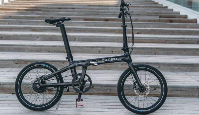 折り畳み電動アシスト自転車CARBO