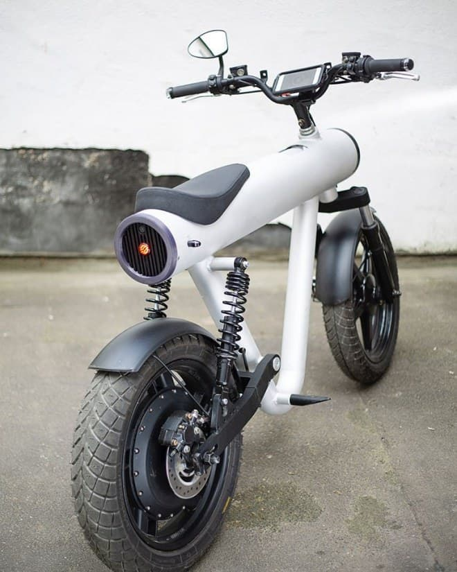 ノペッドと呼ばれるSol Motorsの電動バイク「Pocket Rocket」