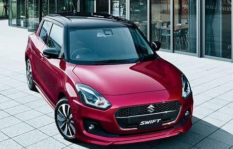 車体色には、赤色「クラレットレッドメタリック」と灰色「ミネラルグレーメタリック」