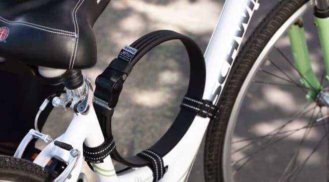 軽く、柔らかい自転車用ロック「Litelock Silver」
