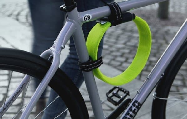 軽量な自転車用ロック「Litelock Silver」
