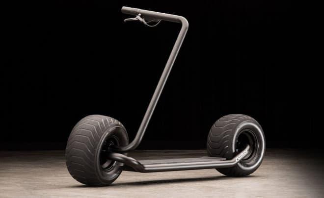 シンプルデザインの電動スクーター「Stator」