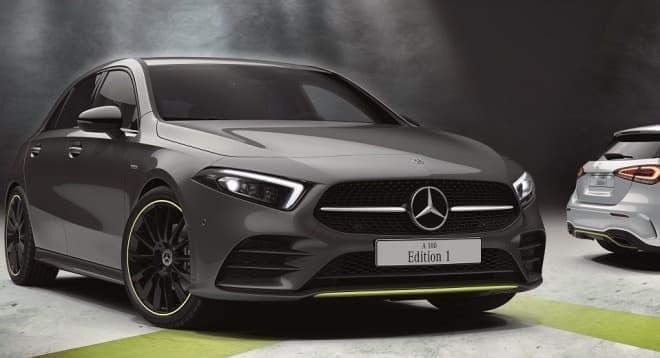 メルセデス・ベンツ新型「Aクラス」に特別仕様車「A 180 Edition1」