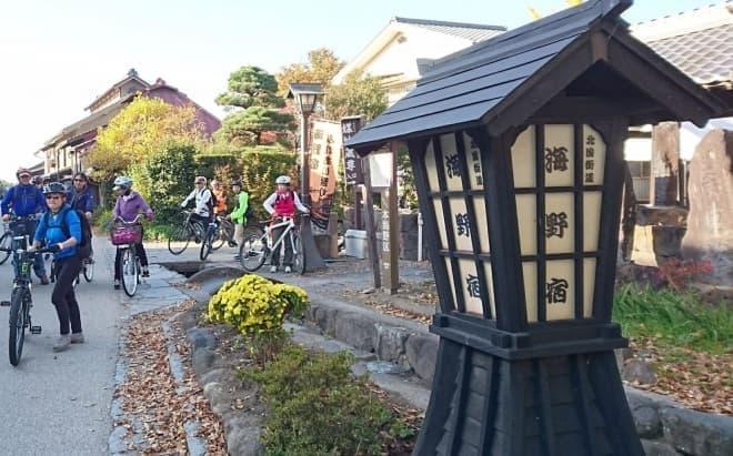 追分宿や小諸大手門を楽しめる「サイクルツーリング&しなの鉄道サイクルトレイン」