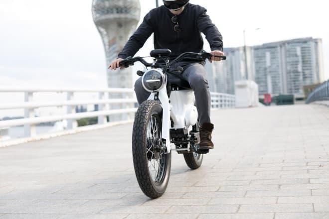 カブを電動バイクに改造するコンバージョンキット、Shanghai Customsで予約受付開始