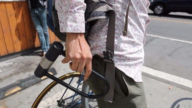 ロブスターの形の自転車用ロック「Lobster Lock」