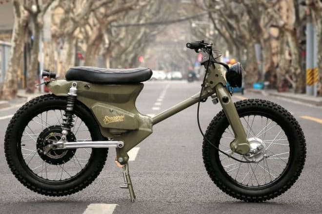Shanghai Customsの電動バイク「eCub2」