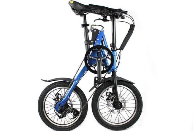 折り畳んで、転がして楽しい自転車「KwikFold」