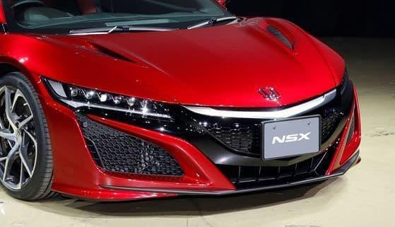 ホンダ「NSX」2016年モデル