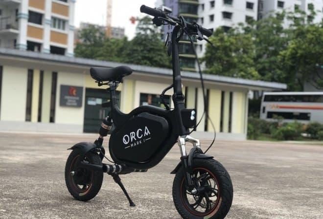 電動バイク「ORCA Mark I 」-実用範囲内でめいっぱい小さく仕上げました