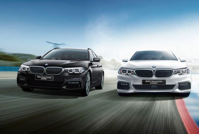 BMW 5シリーズに特別仕様車「M Spirit」