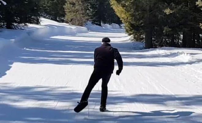 雪上でスケート?―新しいスポーツを楽しめる「Snowfeet(スノーフィート)」にニューバージョン