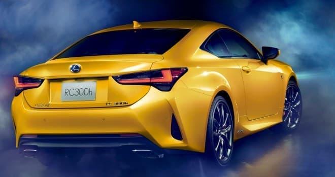 LEXUS「RC」マイチェン ― 「LC」のデザイン・走りを継承