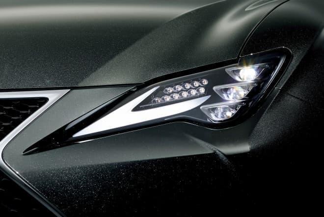 LEXUS「RC」三眼LEDヘッドランプユニット